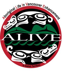 Aboriginal Life in Vancouver Enhancement Society Logo